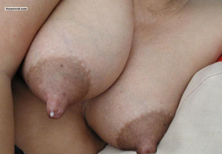 Swollen tits orgasm